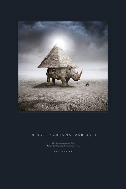 Poster   In Betrachtung der Zeit